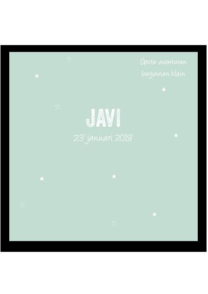 geboortekaartje website